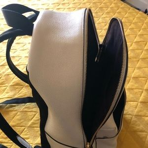 Coach Backpack, Ivory, Genuine Leather